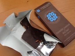 toasted almond sea salt nunu chocolate at urbanspace meatpacking