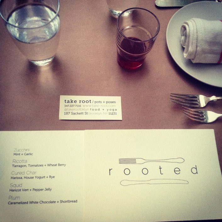 Rooted private dinner with Elise Kornack
