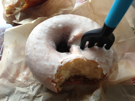 Tres Leches Cake Doughnut from Doughtnut Plant