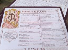 five leaves menu