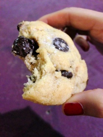 salted chocolate chip cookie at ovenly